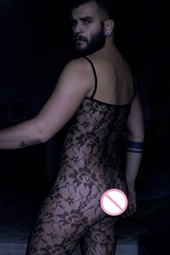 Angemessen 2017 Männer Sexy Geöffneter Gabelung Siamese Strumpf Gedruckt Sunflower Reizvolle Ultradünne Enganliegenden Strampler Socken Teddys & Bodys Neuheiten Und Spezialanwendung