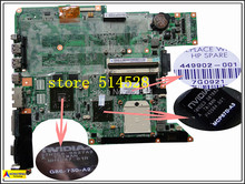 original For HP compaq laptop DV6500 motherboard 449902-001 DV6700 motherboard non-Integrated 100% Test ok