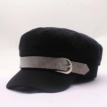 Хит, Весенняя зимняя модная женская хлопковая кепка в британском стиле, Теплые Ретро кепки с восьмиугольным козырьком в стиле милитари