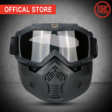 TORC helmet bubbles visor Harley vintage retro open face motorcycle bubble lens glasses for helmets PC LENS