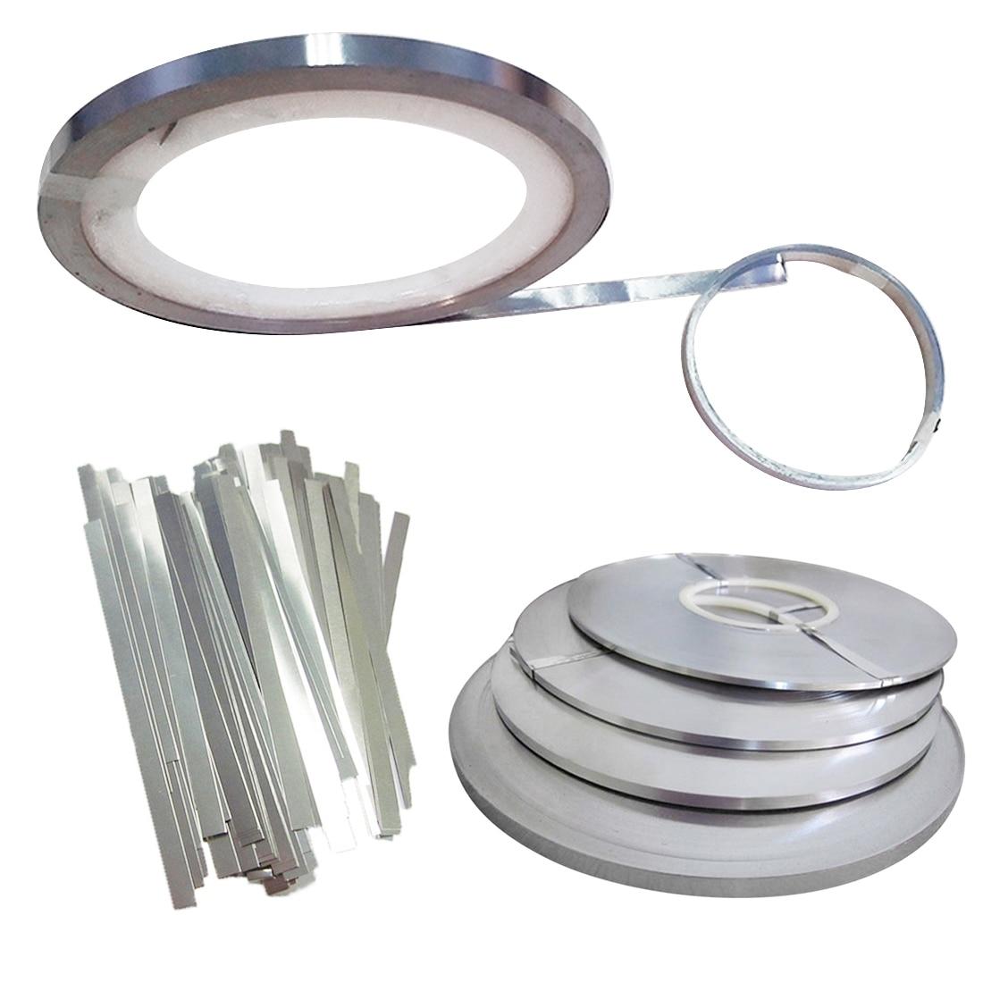 Hot Sale 0.1mm*5mm * 2m  Nickel Plated Strip Tape For Laptop  Battery Spot Welding Compatible Spot Welder Machine