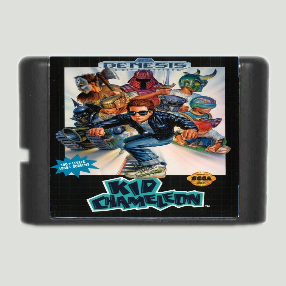 Kid Chameleon 16 Bit MD Game Card For Sega Mega Drive For