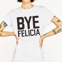 0cb38cfe2 FRESHTOPS H712 Summer Bye Felicia Print Women Casual T shirt Female Round  Neck Simple