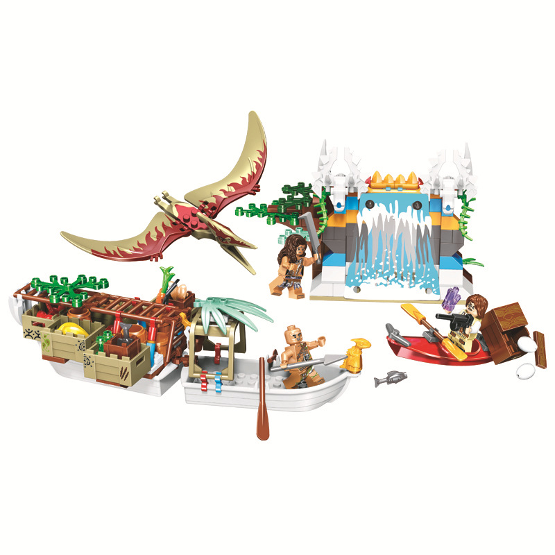 Model Building Kits Good 272pcs Dinosaur World Diy Figures Bricks Educational Toys For Children Compatible Legoing Jurassic World City Tribal Supply Ship Price Remains Stable
