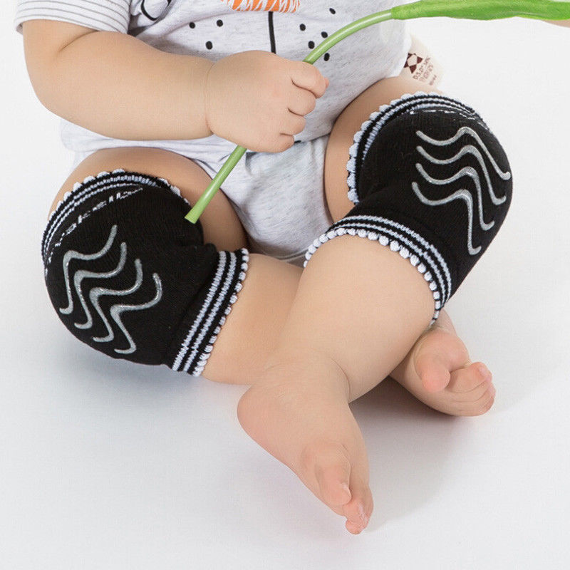 Cute Toddler Baby Infant Toddler Kids Crawling Knee Pads Safety Cushion Pad Protector 0-24M