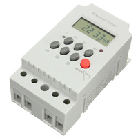 Hight Quality KG316T II AC 220V 25A Din Rail Digital Programmable Electronic Timer Switch For Home