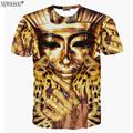Newsosoo sell well !! 2017 new arrive funny 3D t shirt Pharaoh of Egypt printing men's tshirt summer short tops & tees DT49