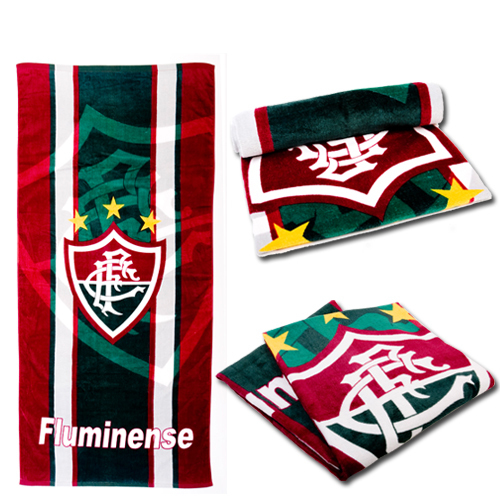 Football Brasileiro  Fluminense FC - outdoor ride autumn and winter sports towel beach towel bath towel