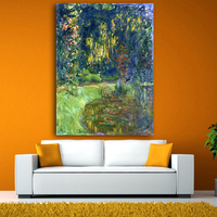 Claude Monet Landscape Canvas Painting Poster Print Impressionist Wall Art Pictures For Living Room Home Decor Unframed