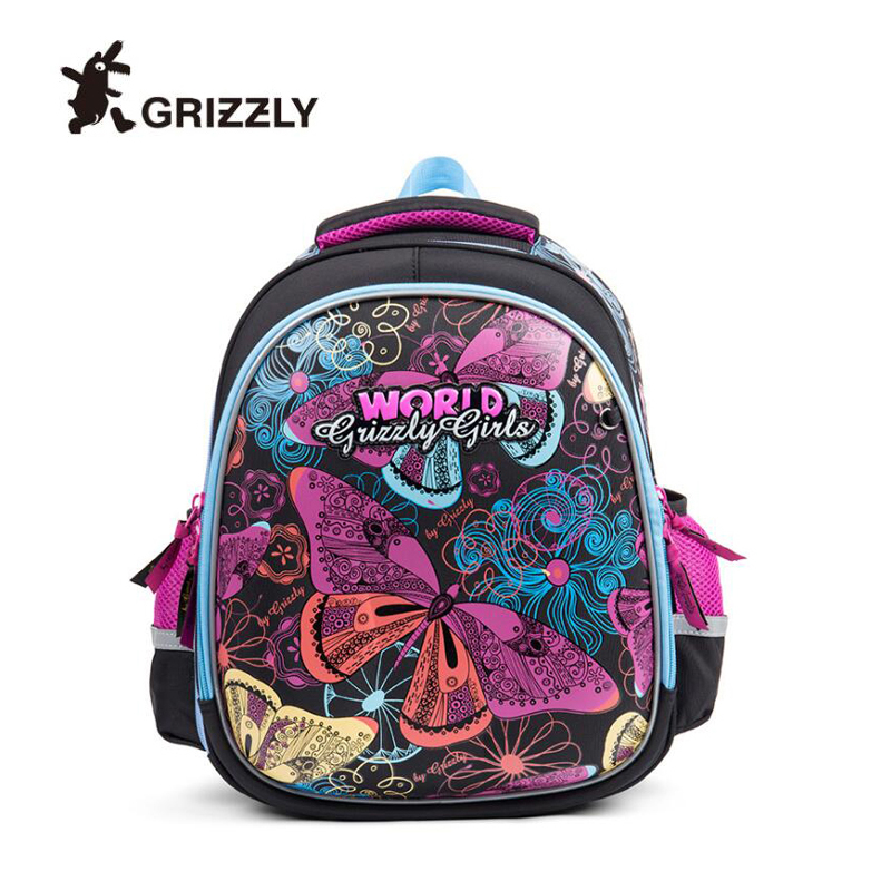 2019 Brand Children s school bag for boys girls Waterproof Orthopedic backpack Primary Grades 1 3