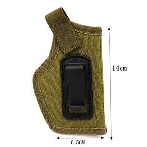 Image 5 - 5 Color Outdoor Tactical Equipment IWB Stealth Tactical Holster CS Field Stealth Tactical Holster for Hunting Shooting