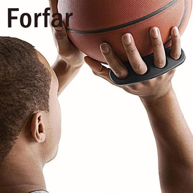 Forfar Tre Punti Basket Shooting Allenatore Palla Shooter Forcella Grip Control Dribbling Colpo Formazione Sport di Squadra per I Bambini di Età