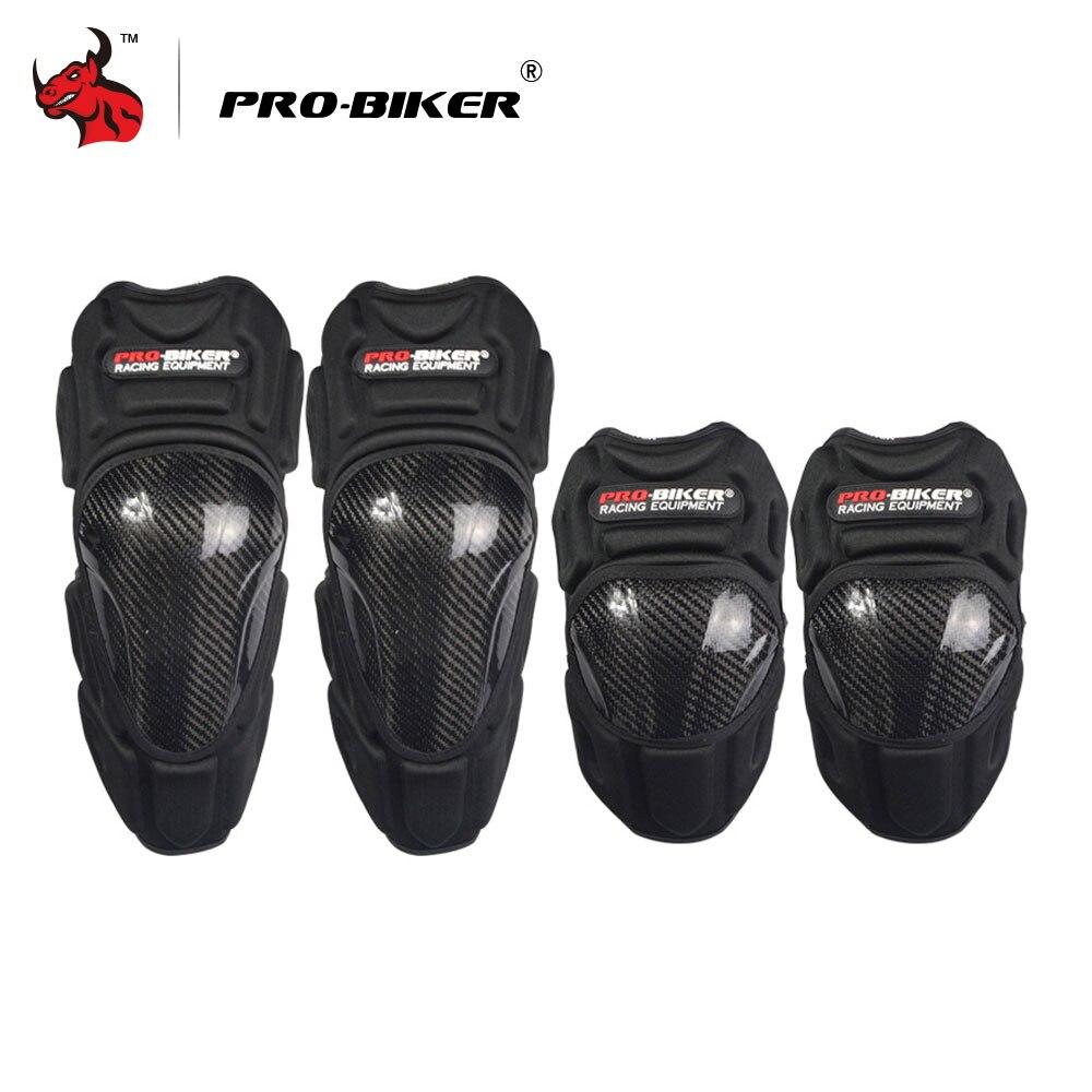 PRO-BIKER Motocross Knie Motorrad Schutz Moto Knie Pads Motorsiklet Dizlik Knie Protector Motorrad Und Motorrad Ellenbogen