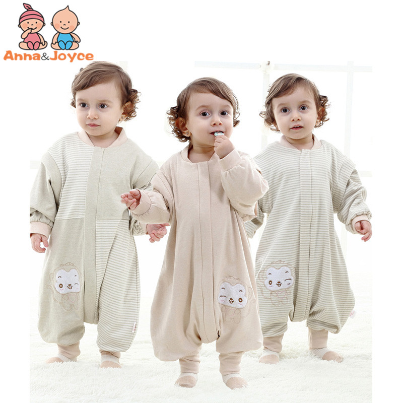 1 pc Spring and Autumn Children's Pajamas Boys In Pajamas Girls Siamese Pajamas Cartoon Cotton Detachable Pajamas cTRQ1205 v neck lace detail pajamas in pajamas set in blue