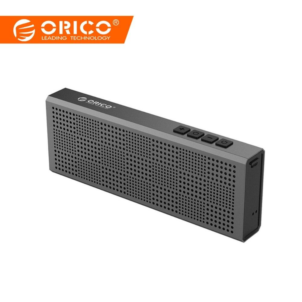 ORICO BS2 Aluminum Wireless Bluetooth Speaker Portable Loudspeaker Sound System Stereo Music Surround Outdoor Speaker