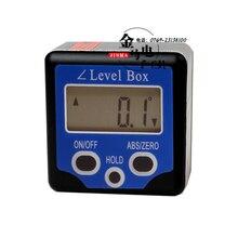 Мини Цифровой Транспортир уровень Box-Синий измеритель уровня