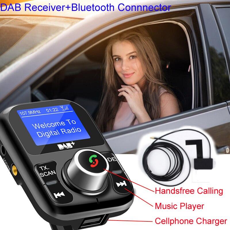 DAB récepteur numérique Radio Voiture DAB + Antenne dans le Module récepteur FM adaptateur Auto Voiture