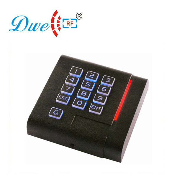 DWE CC RF access control card reader new keypad backlight contactless chip card reader dwe cc rf 2017 hot sell 13 56mhz 12v wg 26 rfid outdoor tag reader for security access control system