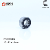 3900-2RS Bearing 10*22*10 mm ( 1 Pc ) 3900 2RS Double Row Sealed 3900 RS Angular Contact Ball Bearings