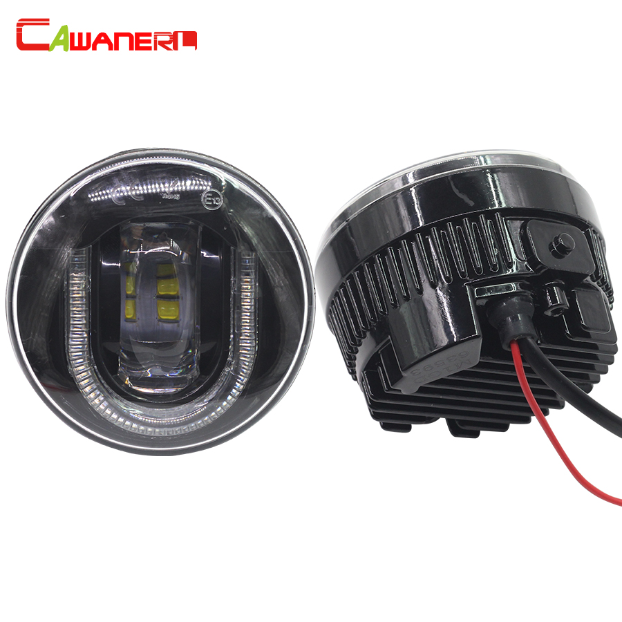 Cawanerl 2 Pieces Car LED Fog Light Daytime Running Lamp DRL 12V High Lumens For Infiniti M35H 2012 cawanerl 2 pieces car styling led fog light daytime running lamp drl 12v for infiniti g37 sport 3 7l v6 gas 2011 2012 2013
