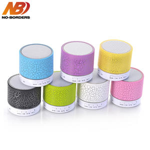 LED Mini Wireless Bluetooth Crack Speakers With Microphone