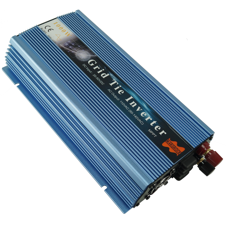 1000W Grid Tie Micro Inverter, Output 110V/230VAC Pure Sine Wave Inverter for 18V, 24V, 30V, 36V PV or Wind Power