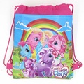 1pcs Red pony Captain Kids schoolbag backpack kids birthday party Favor, Mochila escolar, school kids backpackA7411