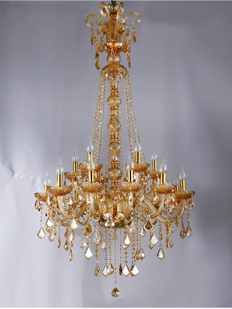 Free Shipping Modern Chandelier Staircase Candle Crystal