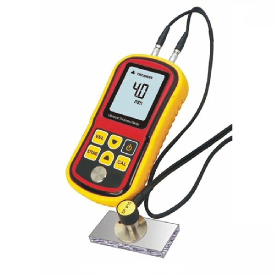 цена на Limited Coating Thickness Gauge Gm100 Ultrasonic Wall Thickness Gauge Meter Tester Steel Pvc Digital Testing