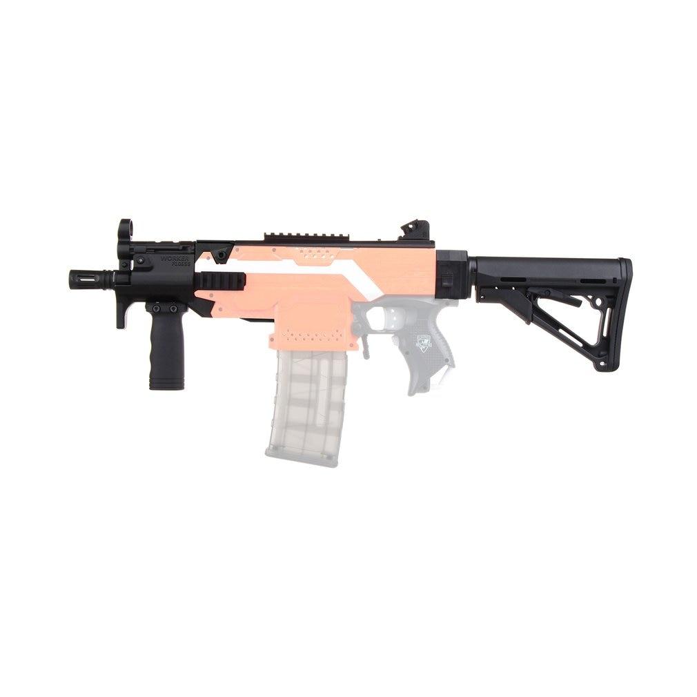 MOD F10555 MP5-K A Kit d'imitation impression 3D haute résistance en plastique Combo pour Stryfe modifier jouet pour Nerf pièces jouets pistolet accessoire