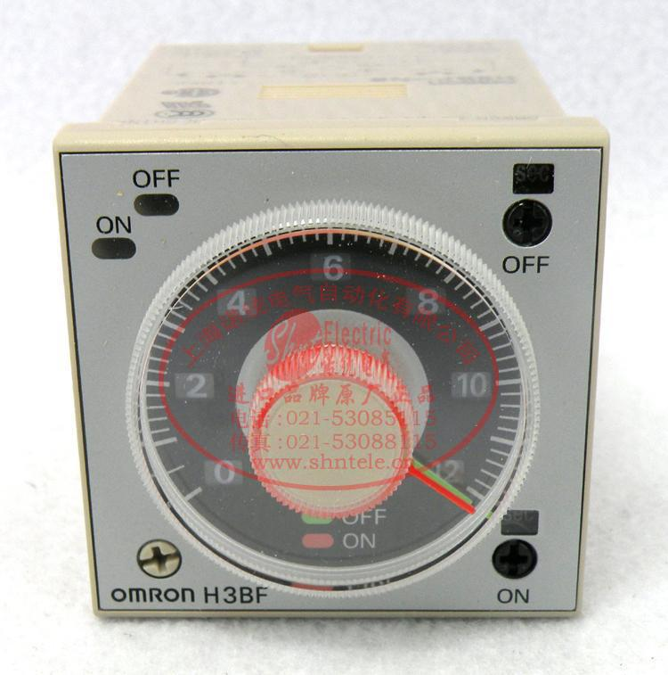 Free Shipping 1pcs/lot The original Japanese time relay H3BF-N8 h3bf n8 ac220v new and original omron adjustable cycle time delay relay double set the timer 220vac