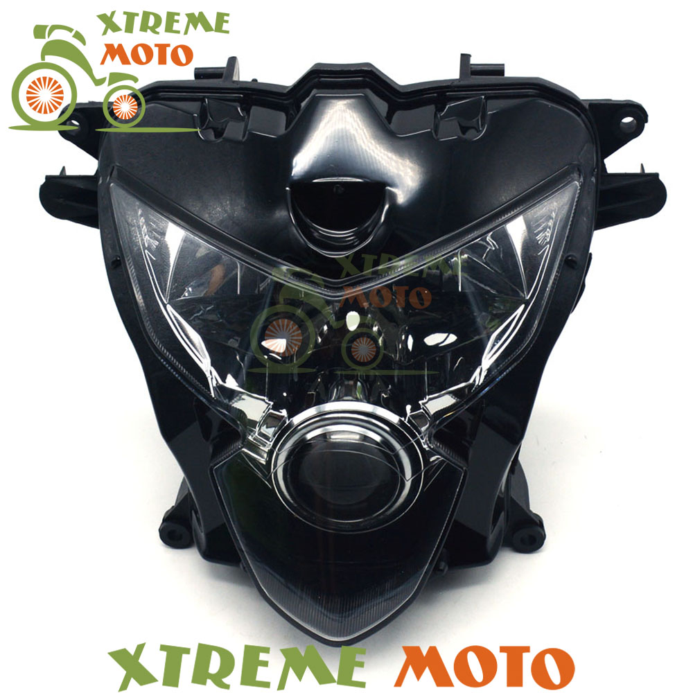 Motorcycle Front Headlights Headlamps Head Lights font b Lamps b font Assembly For GSXR GSXR600 GSXR750