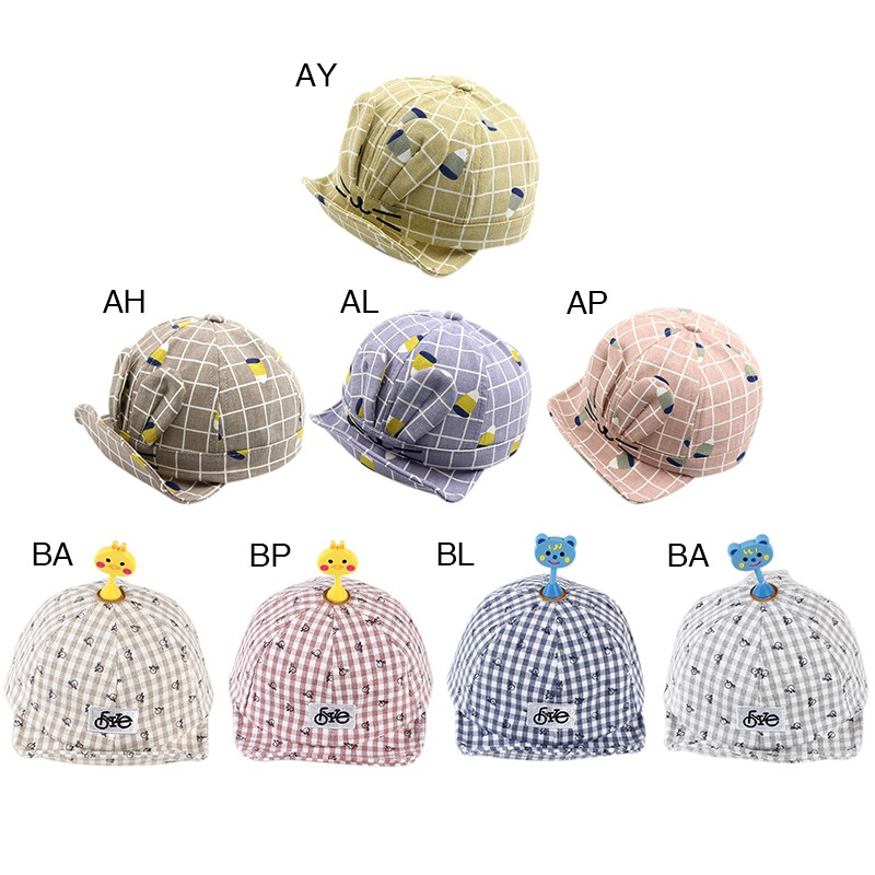 Baby Hat Boys Girls Cartoon Rabbit Ears Baseball Caps Child Adjustable Sun Protection Cartoon Printed Holiday Travel Headwear Moderate Price