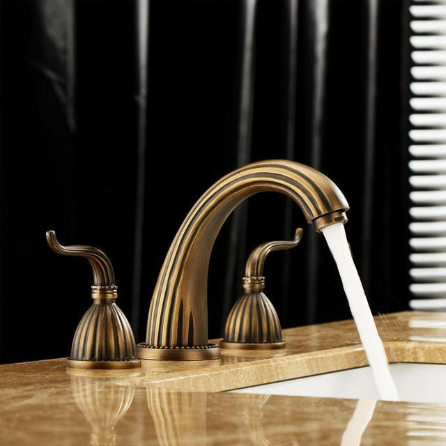 FREUER Acqua Collection: Vessel Bathroom Sink Faucet, Antique Copper FREUER  Faucets,http: