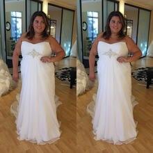 Vestido de noiva элегантное платье размера плюс свадебное 2021