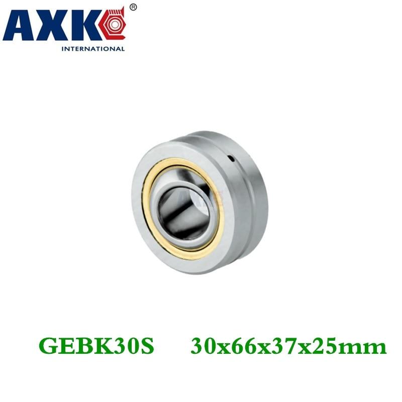 Axk Free Shipping 2pcs Gebk30s Radial Spherical Plain Bearing With Self-lubricationAxk Free Shipping 2pcs Gebk30s Radial Spherical Plain Bearing With Self-lubrication