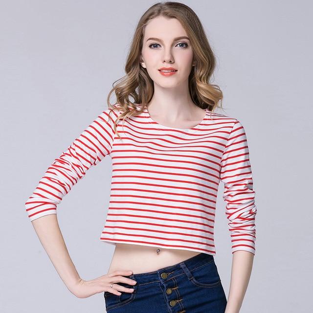 Aliexpress Com Buy 2018 Crop Top T Shirt Women Korean Style Women