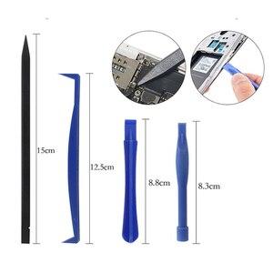 Image 4 - 43 en 1 Kit doutils de réparation de téléphone portable jeu de tournevis douverture de levier pour iPhone pour Apple Macbook Air Pro démontage outils de réparation