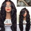 Высший сорт 15a! Необработанные девы человеческих волос бразильский парик 300 плотность 28 дюймов срок службы шесть лет лучшая кружевном чепце