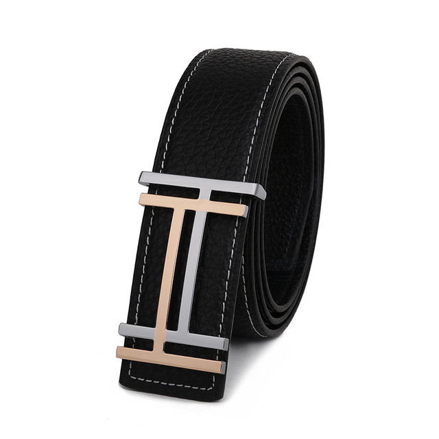 2016 Fashion New Designer Brand Classic Casual Luxury Genuine Leather Belts Men High Quality Belt For Business Male