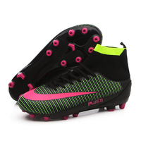 Professional Adults Men S Outdoor Soccer Cleats Ankle Top TF FG Soccer Football Boots Trainers Sports