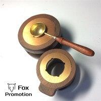 Vintage Melting Pot For Sealing Wax Retro Seal Stamp Vintage Wax Stick Sellado Sax Palillo Sello