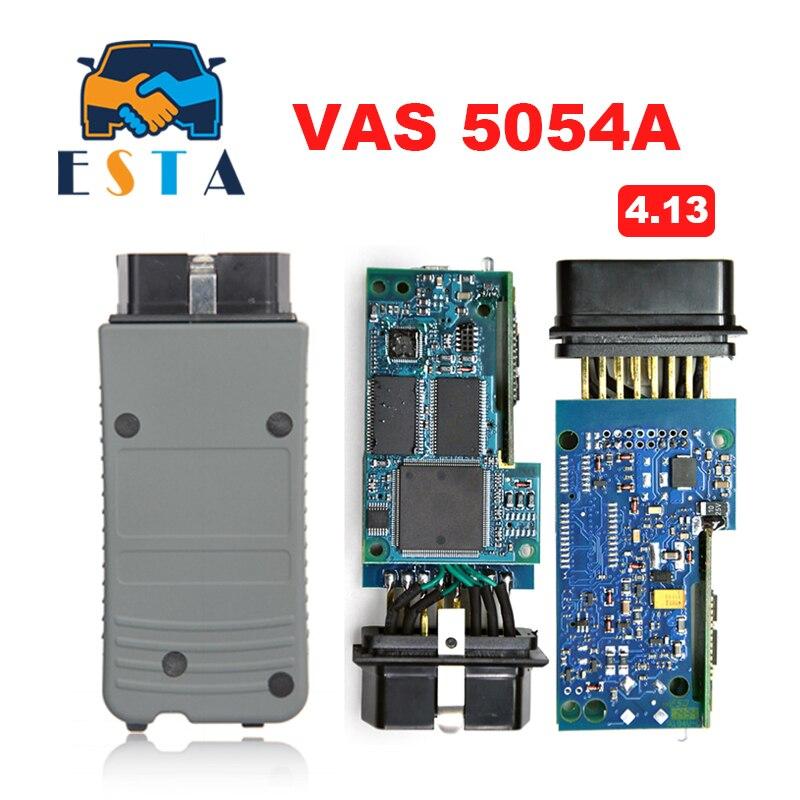 Prix pour 2017 Vas5054A Outil De Diagnostic pour VW Bluetooth VAS5054 VAS 5054A VAS 5054 ODIS V4.13 Support Multi-Langue Livraison Gratuite