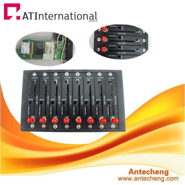 8 port USB Wavecom bulk sms modem tc35i gprs modem gsm modem wavecom q24plus module com port at commands sms voice call