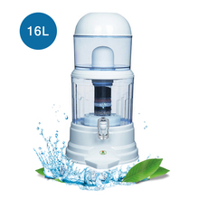 16L Water Filter Barrels Mineral Pot Water Treatment Filter Alkaline Straight Drink Bucket Dispenser Water Purifier stainless steel ultrafiltration water purifier without electric membrane water filter drink straight uf filters