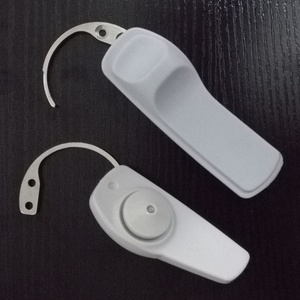 Image 2 - Detacher Mini Hook Detacher Super Security Tag Remover 1 Piece Hand held Nail Gun Sound Magnetic Anti theft Hook Unlocker