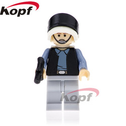 Single Sale Star Wars Rebel Pilot Figures Ki-Adi-Mundi Luke Skywalker Rey  Dolls Bricks Building Blocks Children Toys Gift PG789 dbe069002f05