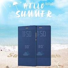 Sikai окном View Cover для Huawei Honor Примечание 8 чехол бодрствование Авто Сон Флип кожаный чехол для Honor Примечание 8 крышка 6.6 дюймов В виде ракушки