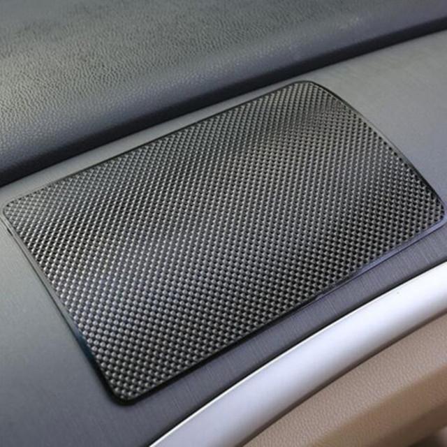 1PCS 19*12cm Car Logo Anti-Slip Mats Pad Non For BMW Mercedes Benz Audi Volkswagen Skoda Ford Buick Chevrolet Citroen Peugeot
