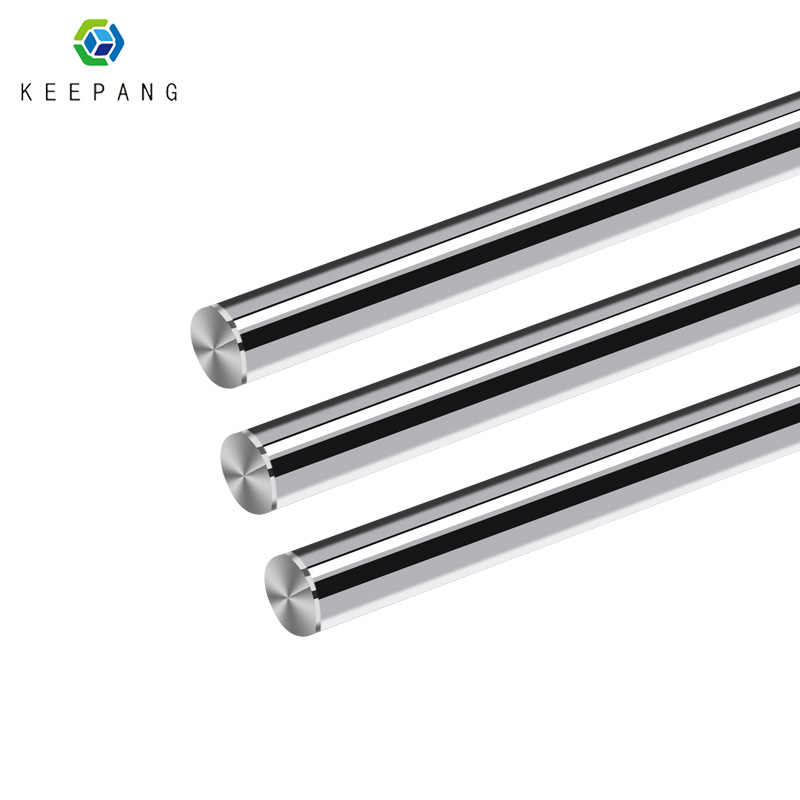 3D Printer Parts Smooth Shaft Rod Optical Axis Multiple Length Option 100 200 285 370 450 550 600mm CNC Chromed Diameter 8mm
